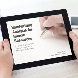 Handwriting Analysis for H.R.