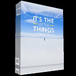 It's the Little Things - eBook & Workbook