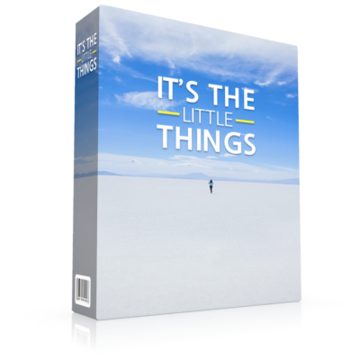 It's the Little Things - book cover